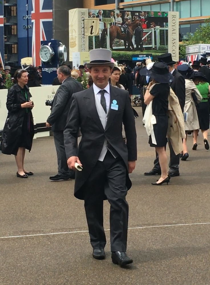 Darren Bunyan At Royal Ascot
