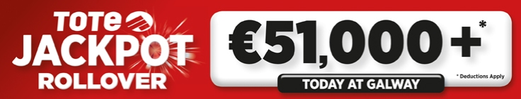 Thursday Jackpot Galway Banner